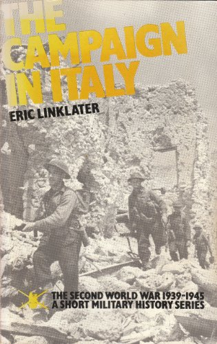 9780117721982: The Campaign in Italy (Second World War 1939 - 1945 Series)
