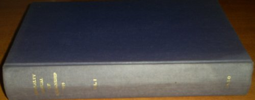 9780117722613: Admiralty Manual of Seamanship: v. 1