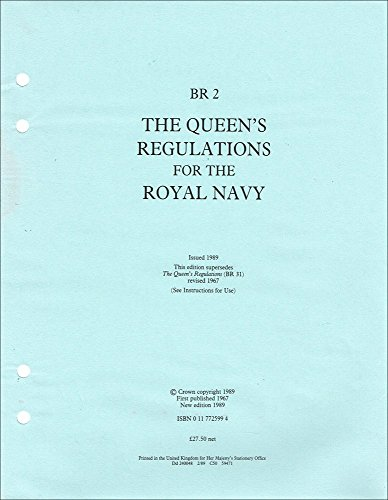 9780117725997: The Queen's Regulations for the Royal Navy: Br 2