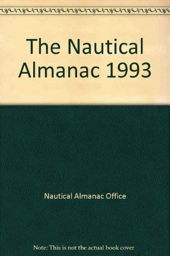 9780117726185: Nautical Almanac: 1993