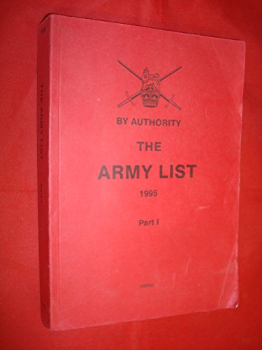 9780117726987: The Army List 1995