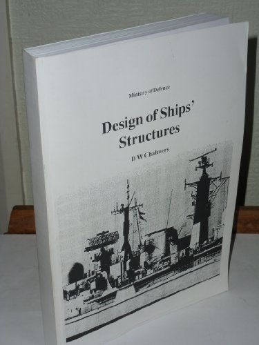 9780117727175: Design of Ships Structures