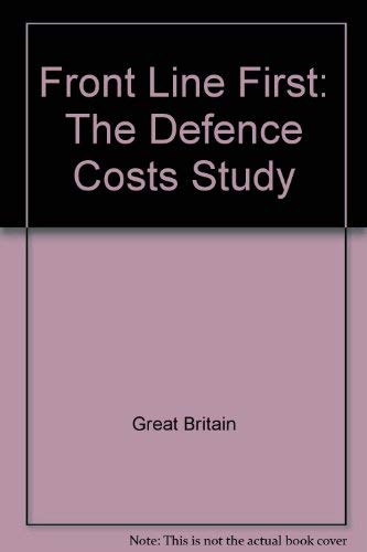 9780117728110: Front Line First: The Defence Costs Study