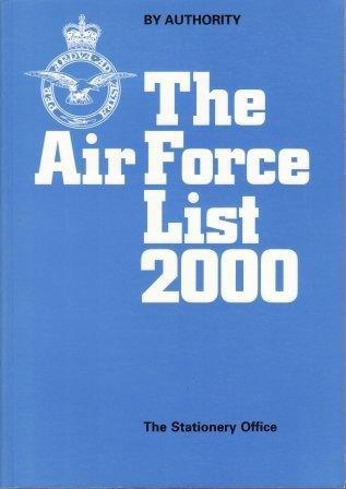 9780117729056: Air Force List