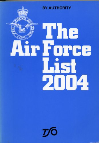 9780117730090: Air Force List 2004