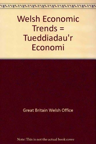9780117900424: Welsh Economic Trends = Tueddiadau'r Economi