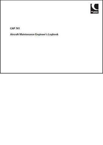9780117920736: Aircraft Maintenance Engineers Log Book 2008: Issue 2 (CAP)