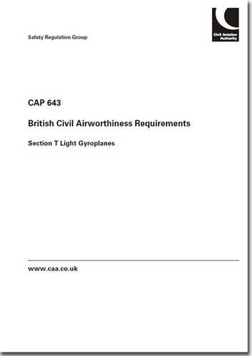 9780117928282: British Civil Airworthiness Requirements: Section T Light Gyroplanes (CAP)