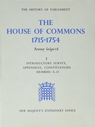 9780118800983: House of Commons (The History of Parliament Trust)