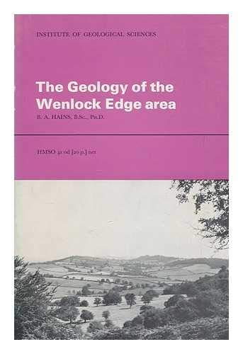 9780118801256: Geology of the Wenlock Edge Area: Explanation of 1: 25 000 Geological Sheet SO 59: (explanation of 1: 25000 Geological Sheet S059) (Classical Areas of British Geology Guides)