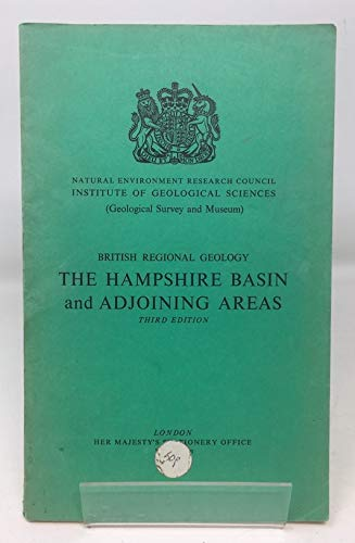 9780118801959: HAMPSHIRE BASIN AND ADJOINING AREAS (BRITISH REGIONAL GEOLOGY)