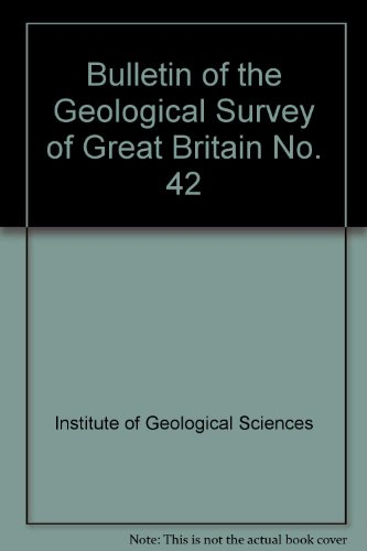 9780118805865: Bulletin of the Geological Survey of Great Britain No. 42