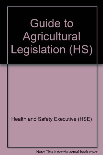 Guide to Agricultural Legislation