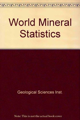 9780118841634: World Mineral Statistics