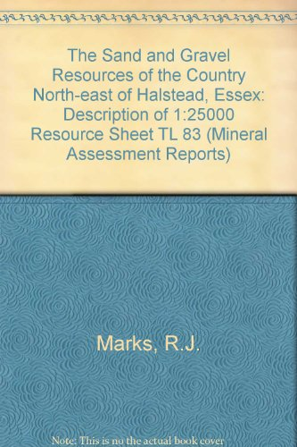 9780118841689: Mineral Assessment Report the Sand (Mineral Assessment Reports)