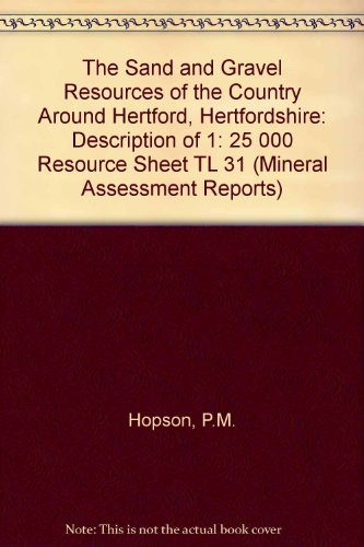 9780118843126: Mineral Assessment Report the Sand (Mineral Assessment Reports)
