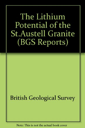 9780118843874: The Lithium Potential of the St.Austell Granite (BGS Reports)