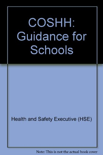 9780118855112: COSHH: Guidance for Schools