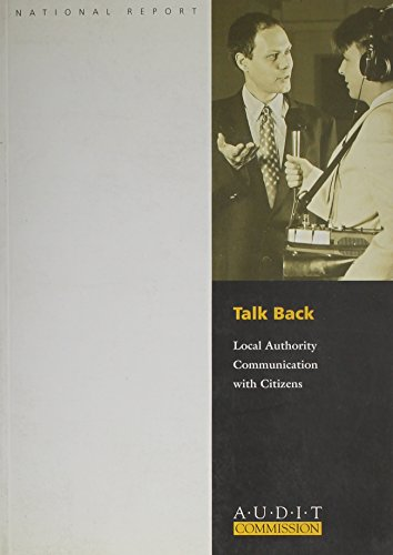 9780118861328: Talk Back: Local Authority Communication with Citizens