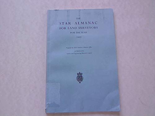 9780118865012: The Star Almanac for Land Surveyors 1995