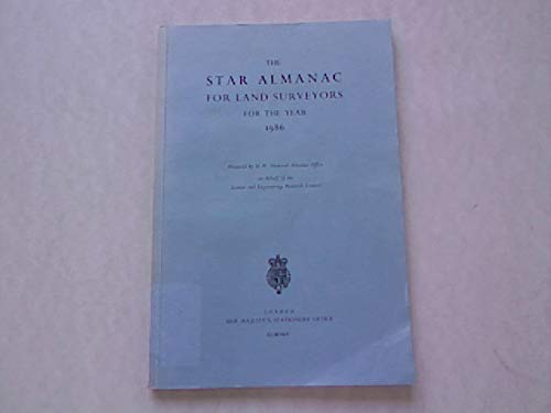 9780118869249: Star Almanac for Land Surveyors 1986