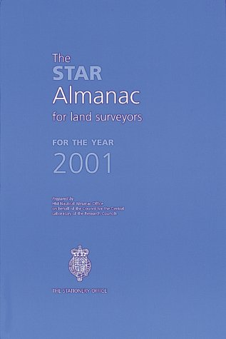 9780118873130: Star Almanac for Land Surveyors 2001
