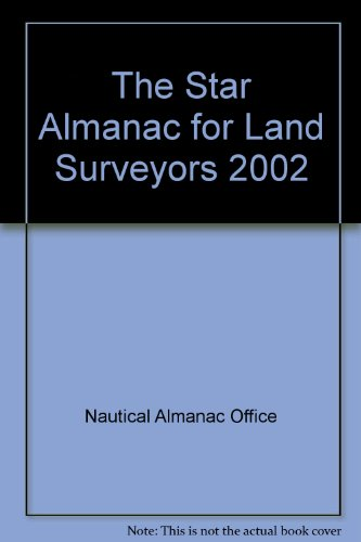 9780118873178: The Star Almanac for Land Surveyors 2002