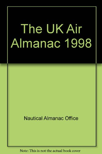 9780118873246: The UK Air Almanac 1998