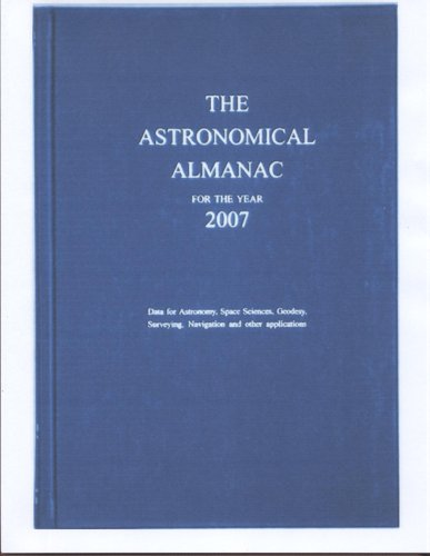 9780118873376: The astronomical almanac for the year 2007