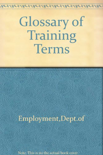 9780118885119: Glossary of Training Terms