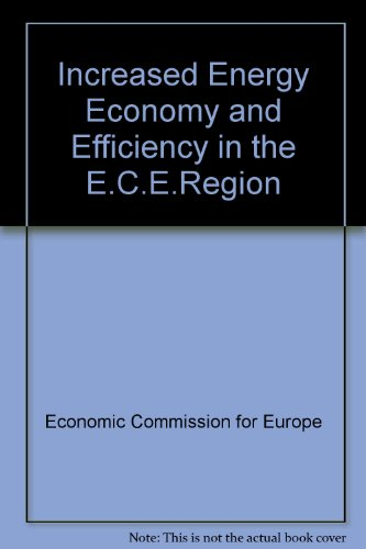 9780119043204: Increased Energy Economy and Efficiency in the E.C.E.Region