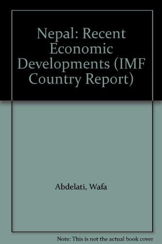 9780119863208: Nepal: Recent Economic Developments (IMF Country Report)