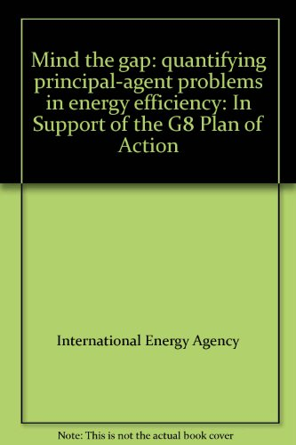 9780119899160: Mind the gap: quantifying principal-agent problems in energy efficiency: In Support of the G8 Plan of Action