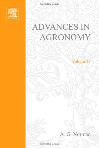 9780120007028: ADVANCES IN AGRONOMY VOLUME 2, Volume 2 (v. 2)