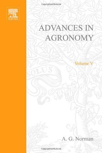 9780120007059: ADVANCES IN AGRONOMY VOLUME 5, Volume 5