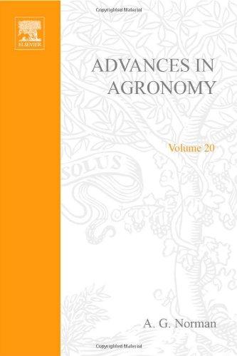 9780120007202: ADVANCES IN AGRONOMY VOLUME 20, Volume 20 (v. 20)