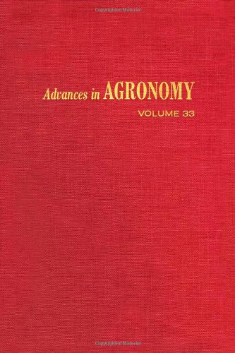 9780120007332: Advances in Agronomy, Vol. 33