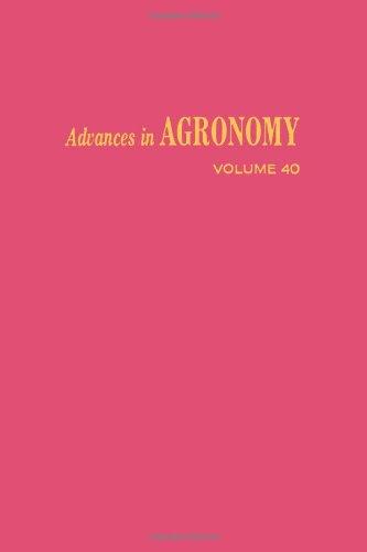 Advances in Agronomy: v. 40 (Volume 40): Brady, N.C.