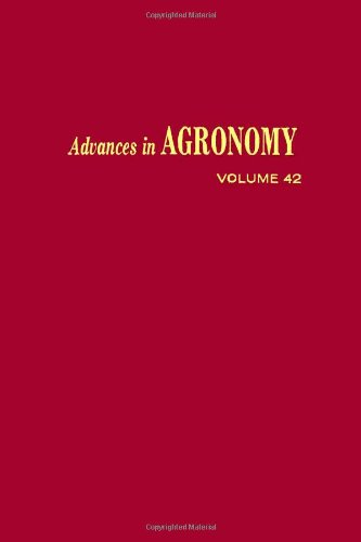 9780120007424: Advances in Agronomy: v. 42
