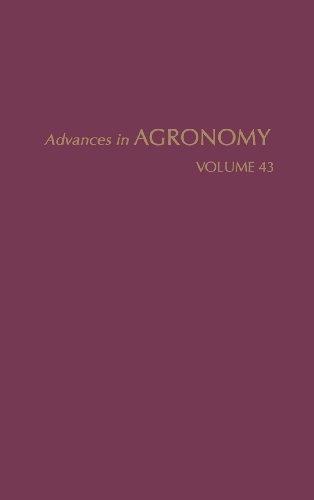 ADVANCES IN AGRONOMY VOLUME 43: BRADY, N. C.