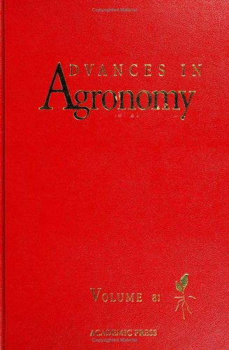 9780120007998: Advances in Agronomy, Volume 81