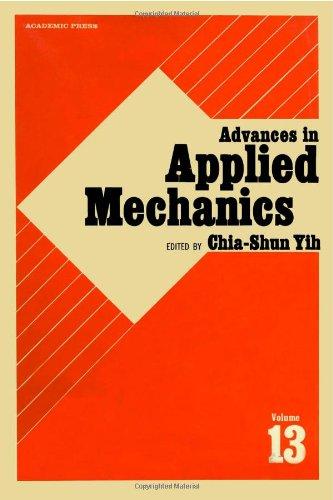 9780120020133: ADVANCES IN APPLIED MECHANICS VOLUME 13, Volume 13 (v. 13)
