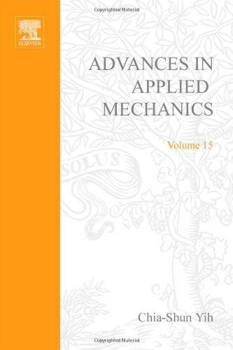 9780120020157: ADVANCES IN APPLIED MECHANICS VOLUME 15, Volume 15 (v. 15)
