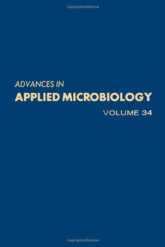 9780120026340: Advances in Applied Microbiology: v. 34