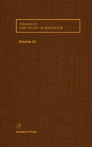9780120045242: Advances in the Study of Behavior, Volume 24