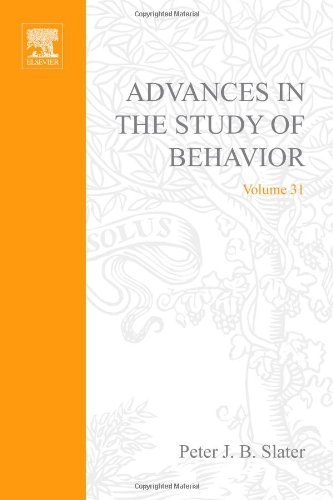 9780120045310: Advances in the Study of Behavior: Vol.31 (Advances in the Study of Behaviour)