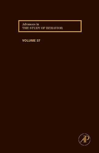 9780120045372: Advances in the Study of Behavior