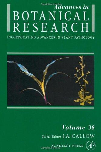 9780120059386: Advances in Botanical Research, Vol. 38