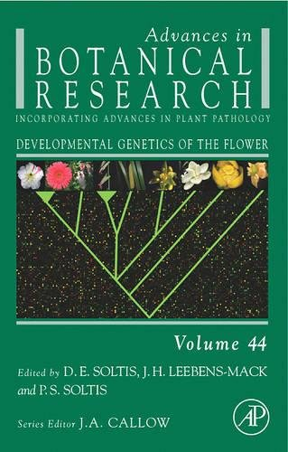 9780120059447: Developmental Genetics of the Flower, Volume 44: Advances in Botanical Research