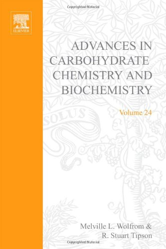 9780120072248: ADV IN CARBOHYDRATE CHEM & BIOCHEM VOL24, Volume 24 (v. 24)